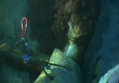 Szivárgó olaj a Mexikói-öbölben