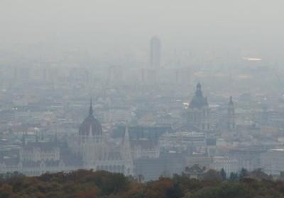 szmog Budapest criticalmass