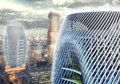 esővízhasznosító felhőkarcoló
