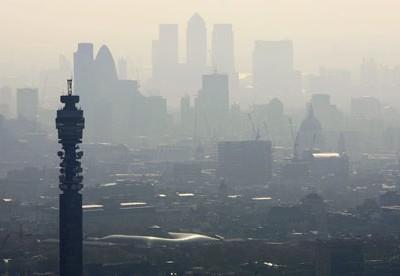Szmog  London felett