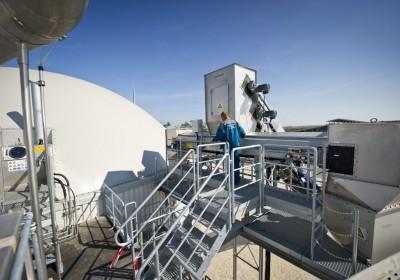Energia - Próbaüzem a szarvasi biomasszaerõmûben