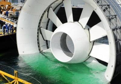 Az óriási turbina