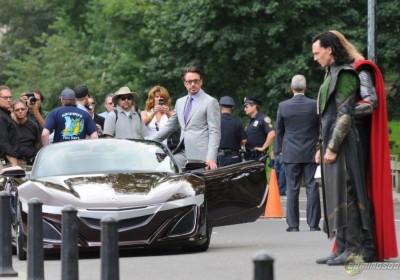 A szuperhősök autója