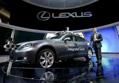 Lexus LS vezető nélküli koncepció