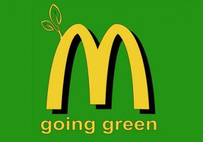 Zöldülő McDonalds