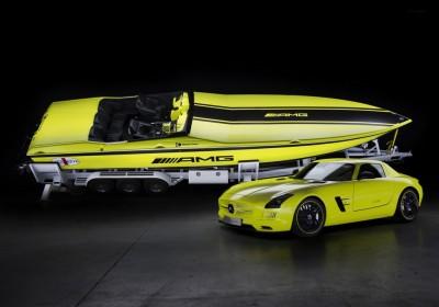 Mercedes AMG elektromos hajó1