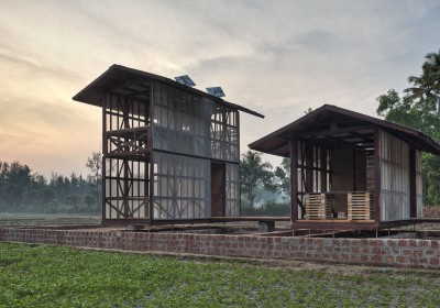 Rintala Eggertsson architects prototype in Karnataka, India