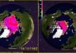 Olvadó jégtakaró mérete