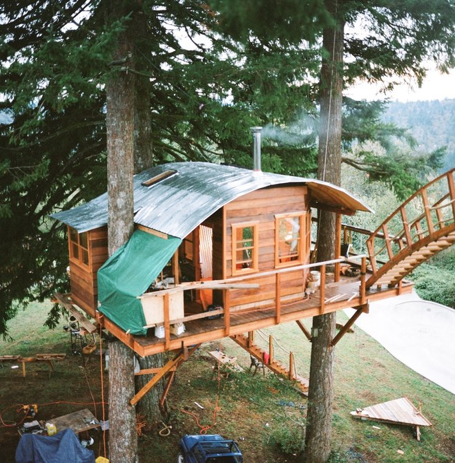 Egy faház, ahol mindenki lakna