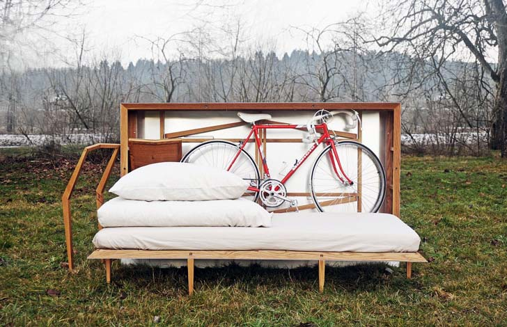 Travelbox – nappali egy dobozban