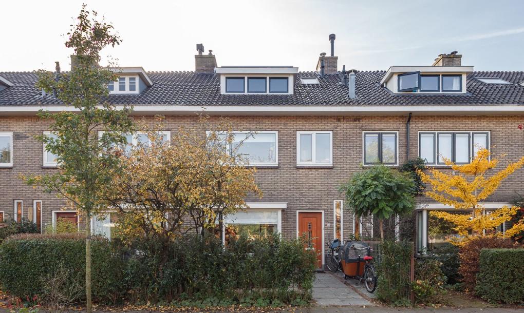 1930-as években épült házat terveztek át Rotterdamban