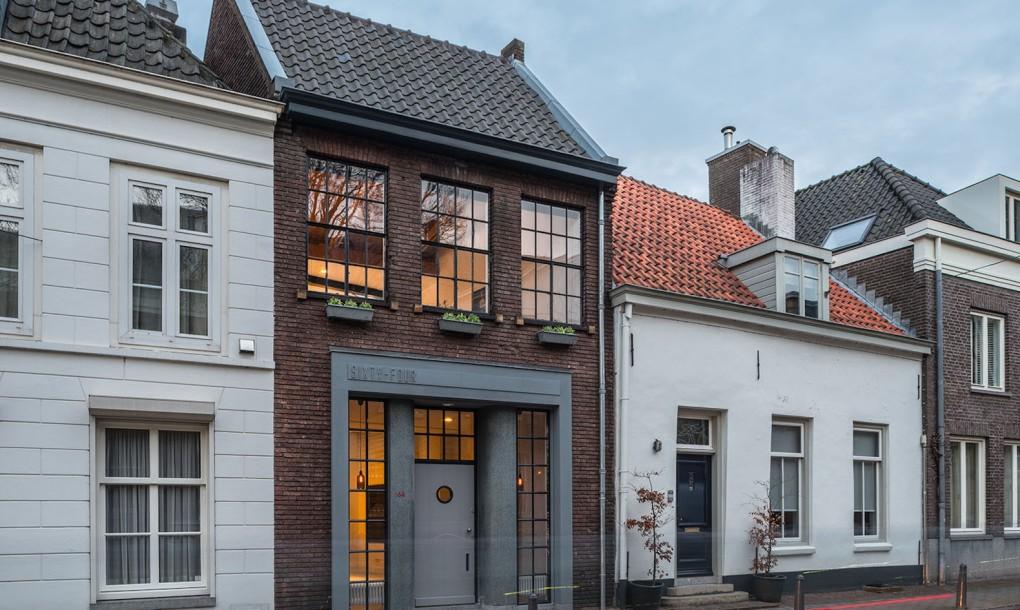 Egy 19. századi műhelyből átalakított loft lakás