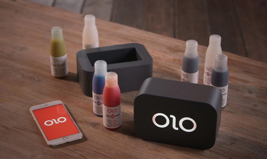OLO – egy 3D-s nyomtató, amelyet az okostelefonod segítségvel használhatsz