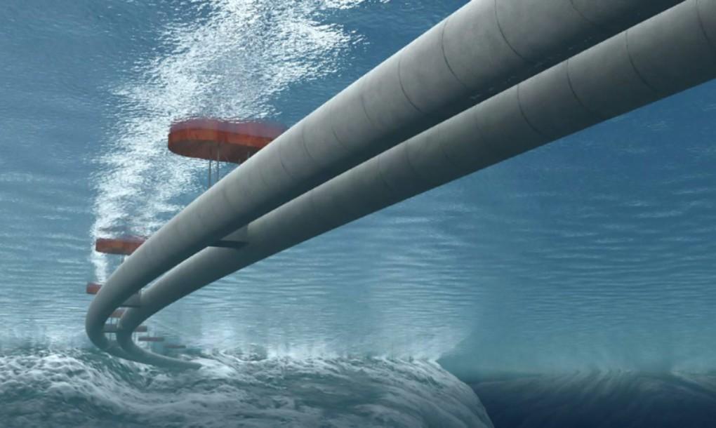 A norvég úszó-alagút