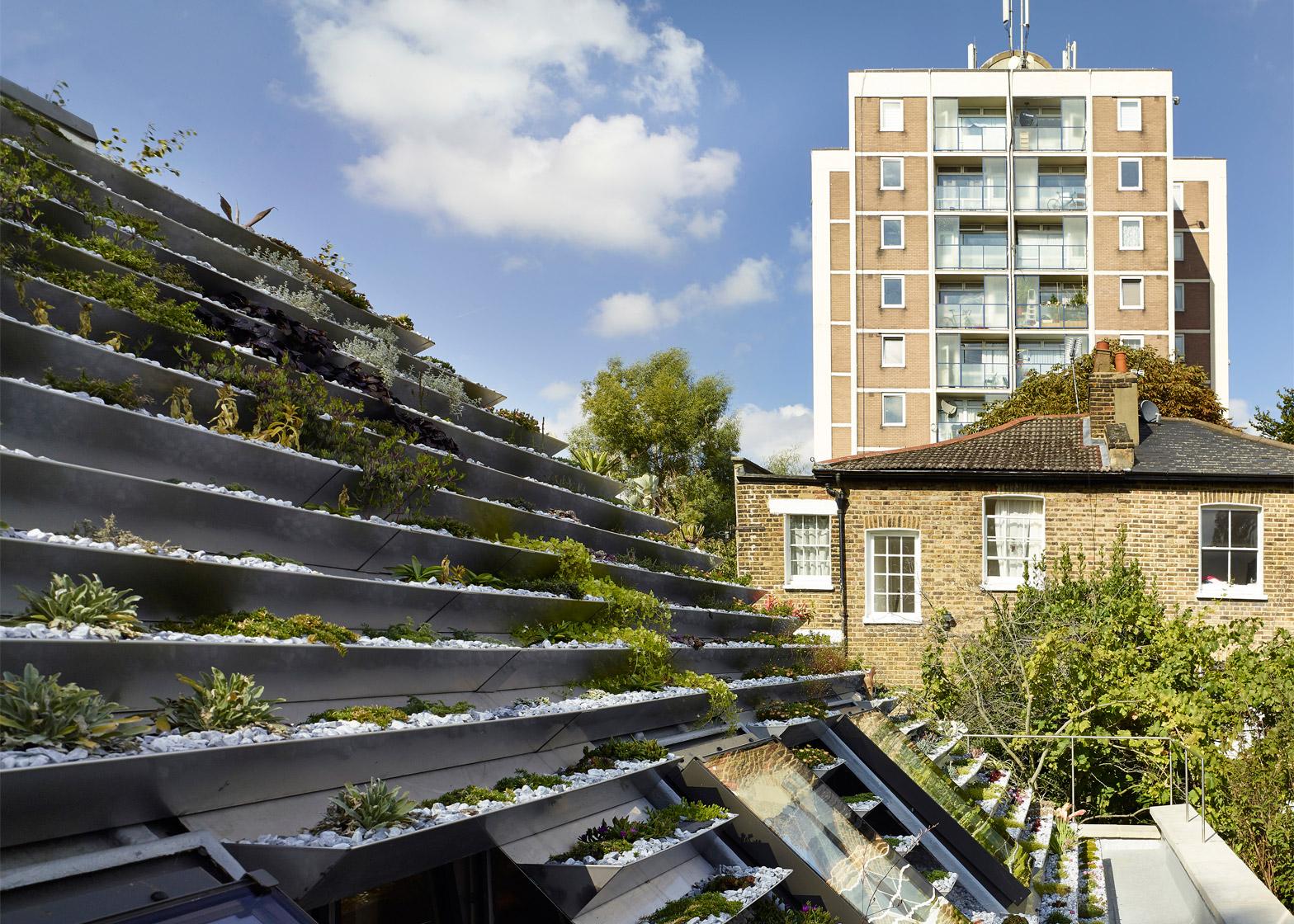 A legmodernebb tetőkert