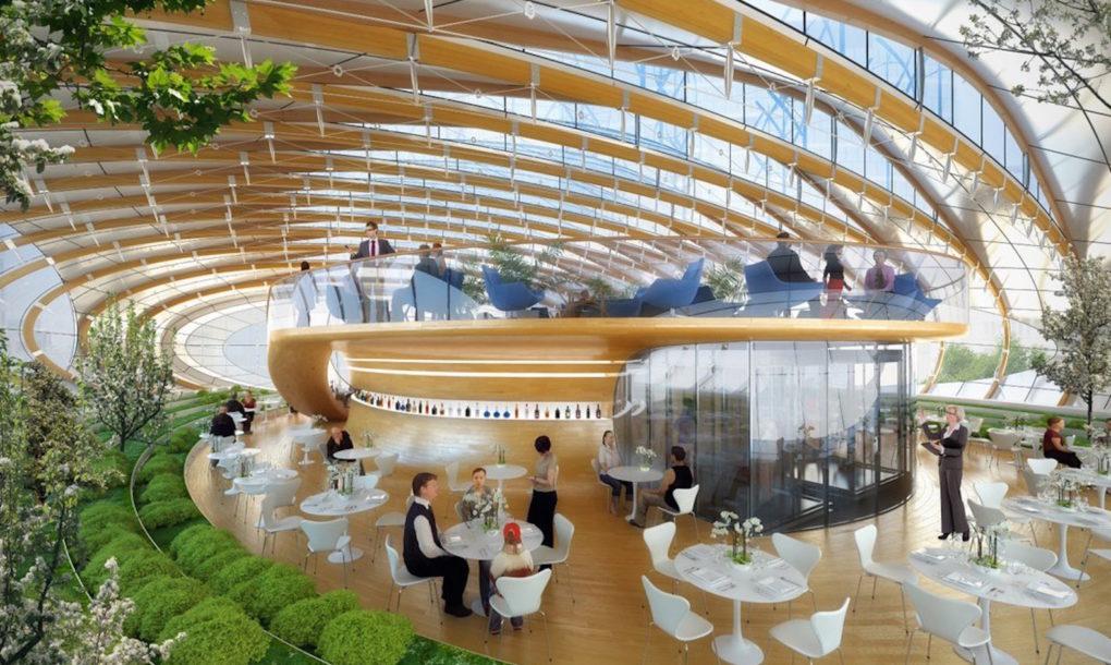 A megújult Botanic Center Brüsszelben