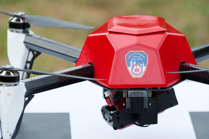 Drónokat használ a new york-i tűzoltóság
