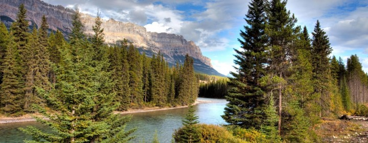 CFC74M Bow River Valley, Banff National Park, Alberta, Canada