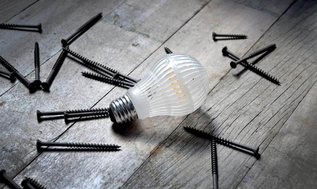 A törhetetlen LED égő