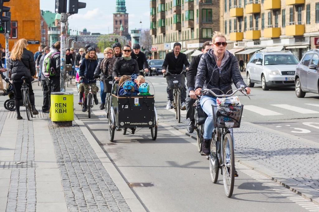 Több bicikli van Koppenhágában, mint autó