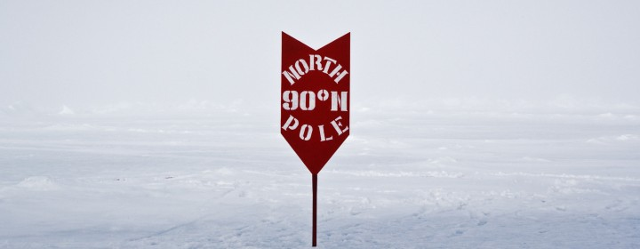 Location shot of 'The North Pole'