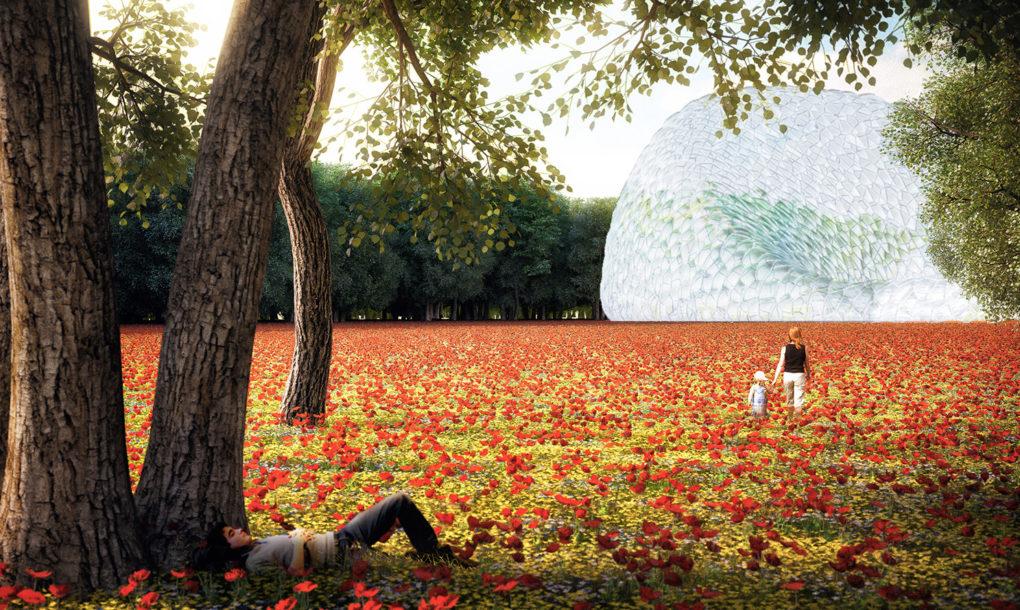 Egy holland birtokon interaktív kertet építenek