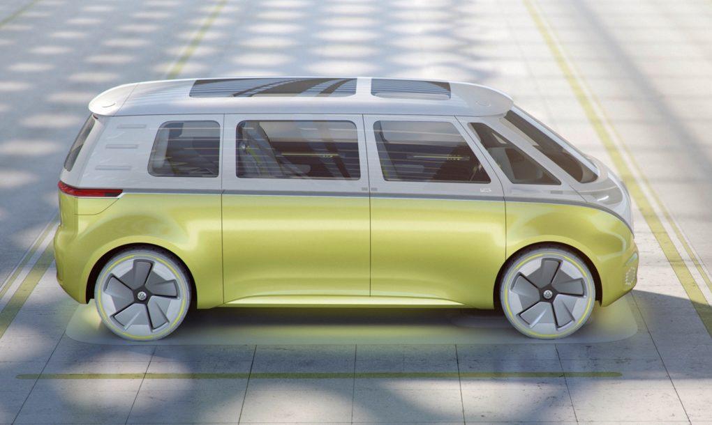 Így fog kinézni a Volkswagen új elektromos mikrobusza