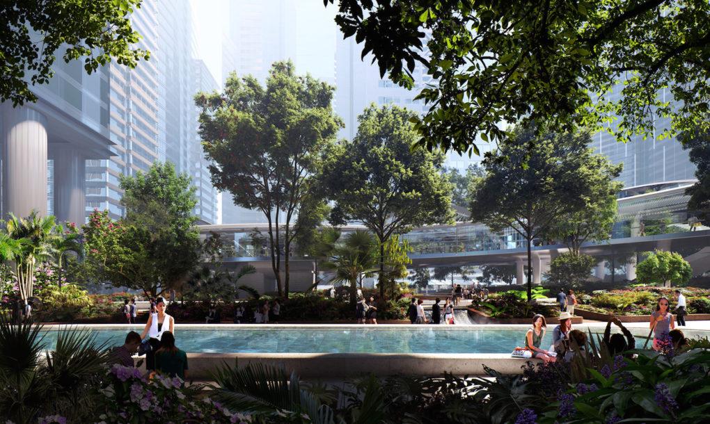 Hong Kong kap egy hatalmas zöld foltot