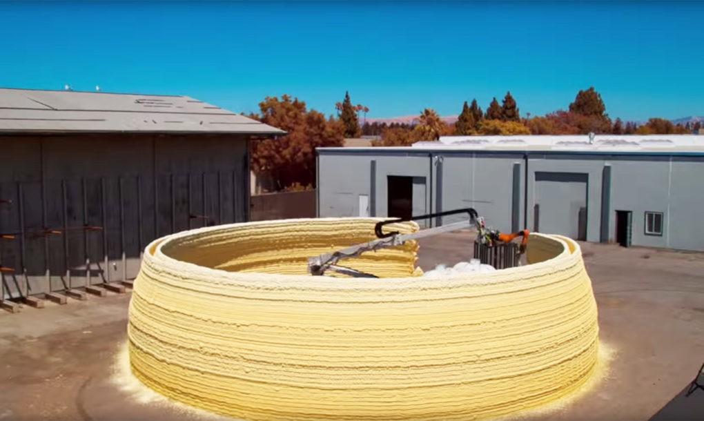 Házat nyomtatott az MIT 3D nyomtatója