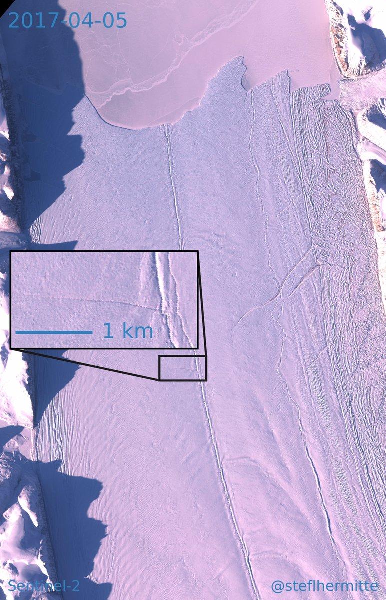 Óriási repedést találtak egy grönlandi gleccseren
