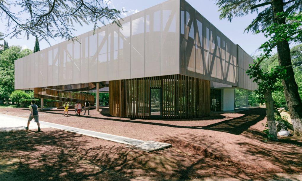 Csodaszép könyvtár nyílt Grúzia fővárosában – Galéria