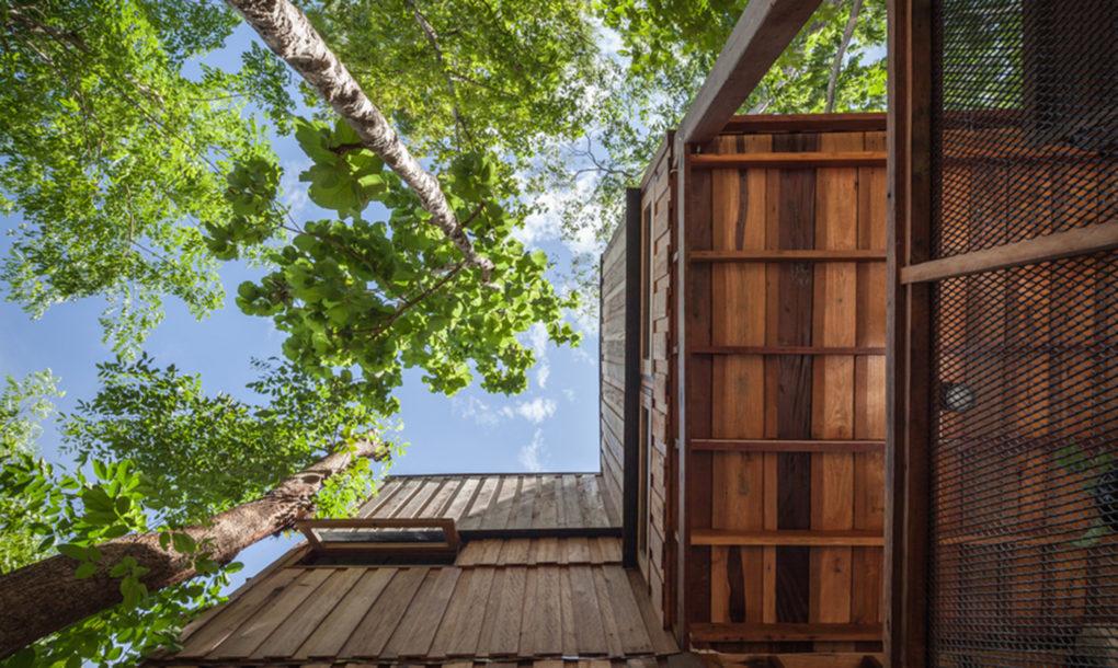 Csodálatos faház épült Thaiföldön