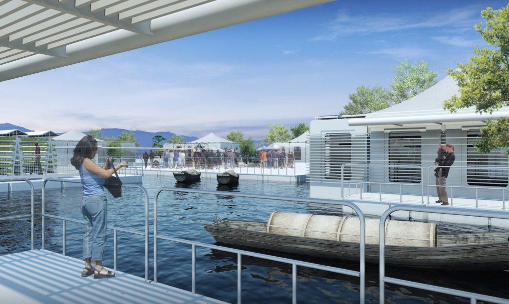 LifeArk, a moduláris úszósziget