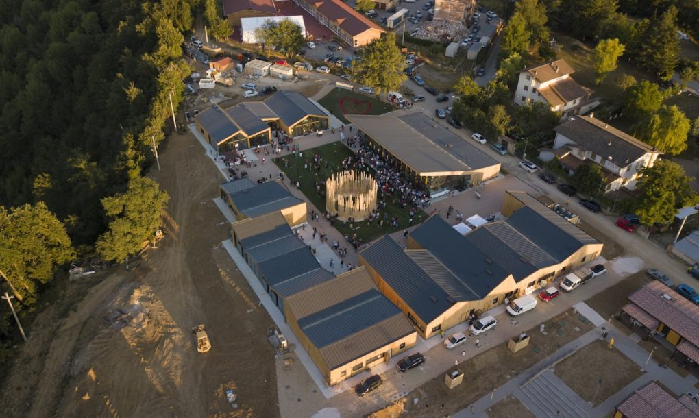 Újjáépült az olasz város a tavalyi földrengés után