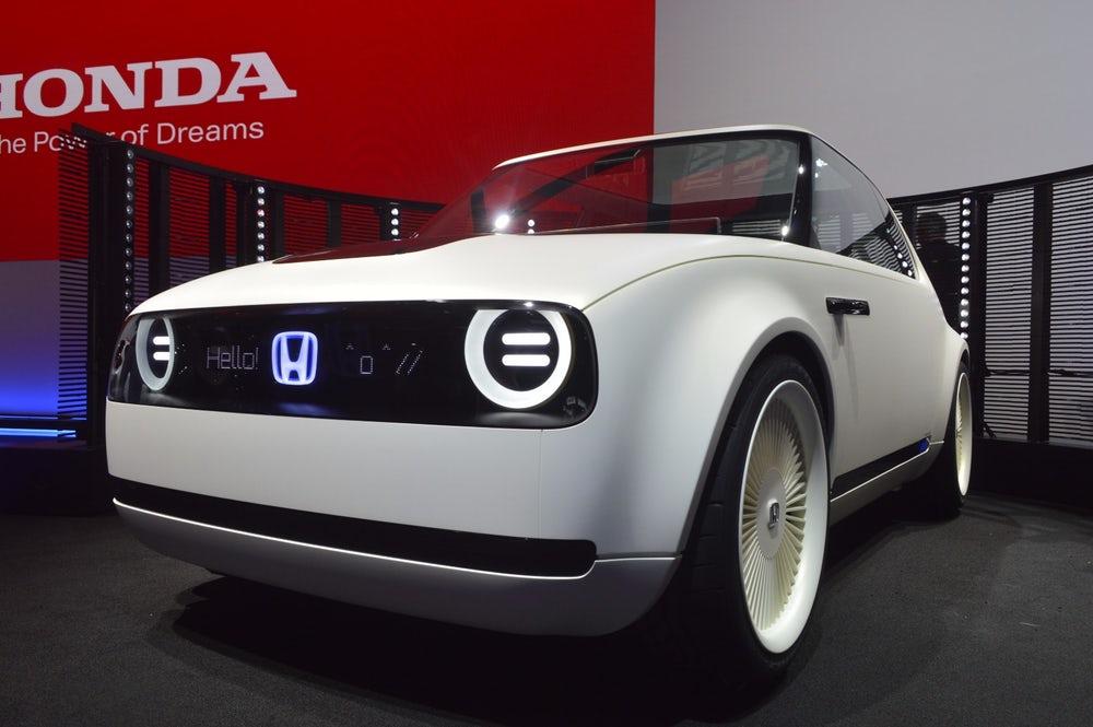 Elektromos Honda régi köntösben