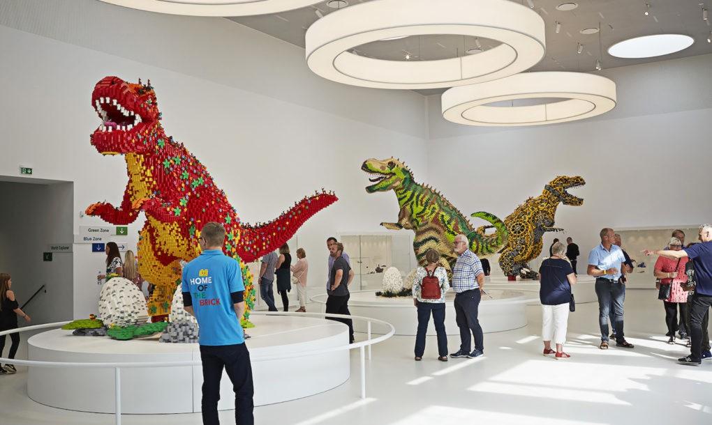 Megépült a LEGO Ház Dániában