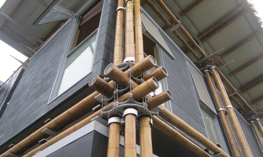 Gyönyörű és energia hatékony bambuszházat építettek Kínában