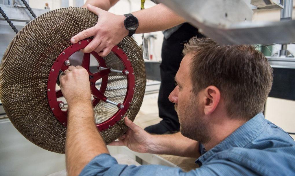 A NASA újra feltalálta a kereket