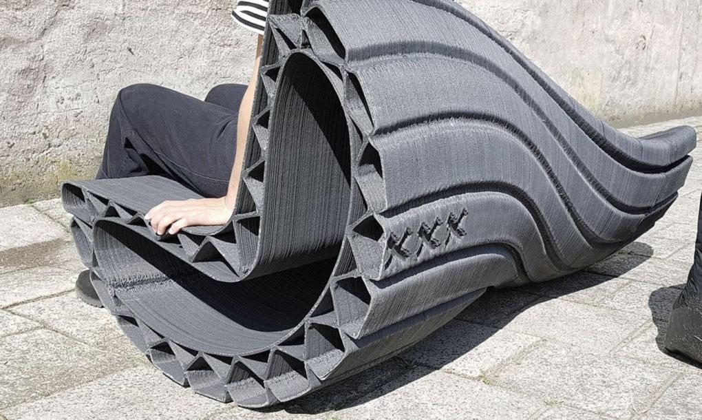 Műanyag szemétből csináltak padokat Hollandiában