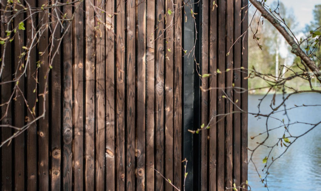 Gyönyörű, úszó szauna – Galéria