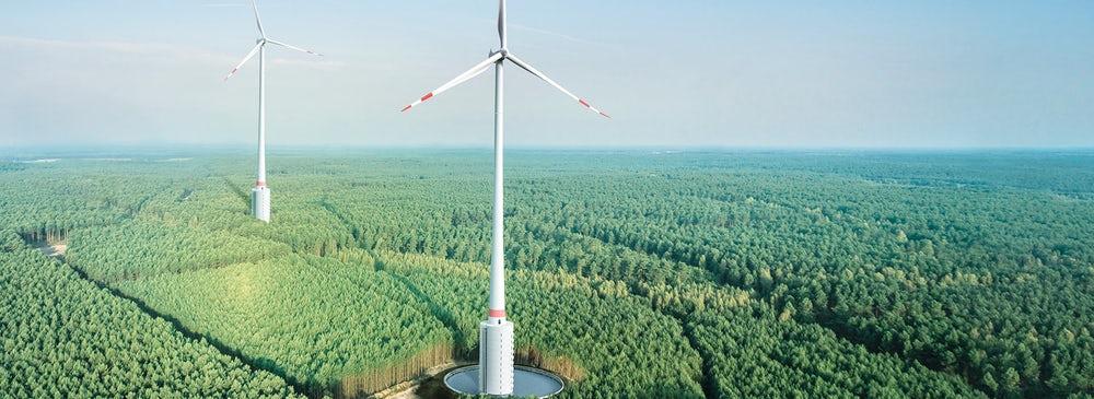 Németországban megépül a világ legmagasabb szélturbinája