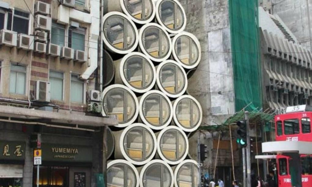 Régi vízvezetékekből otthont teremtett az építész