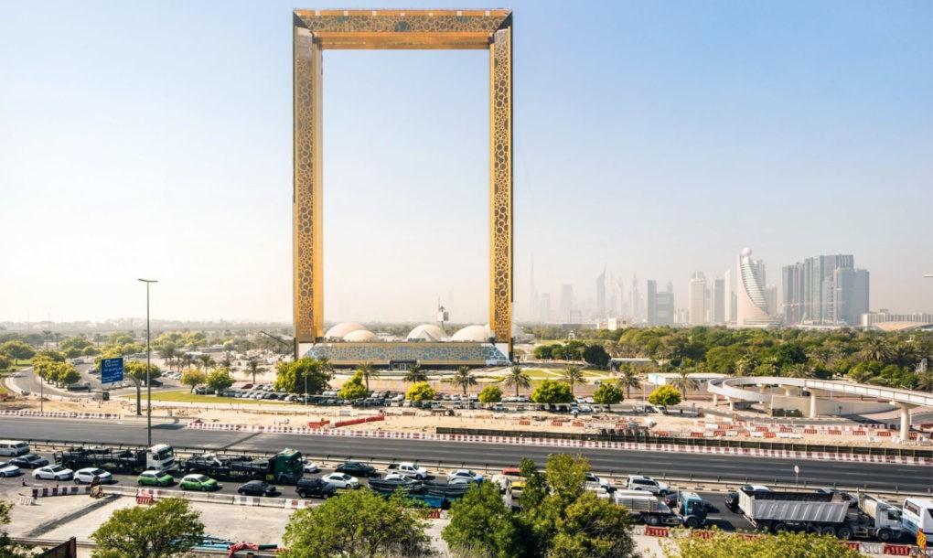 A világ legnagyobb képkerete nyílik Dubaiban