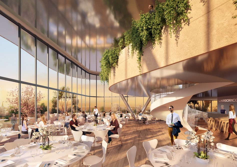 A Vincent Callebaut zöldborította épületei gyümölcsöt is teremnek
